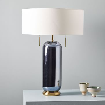 Ellipse Glass Table Lamp Lamp Modern Lamp Table Lamp