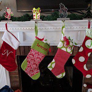 Personalized Stocking Christmas Stocking Stockings Etsy Christmas Stockings Christmas Decorations Personalized Stockings