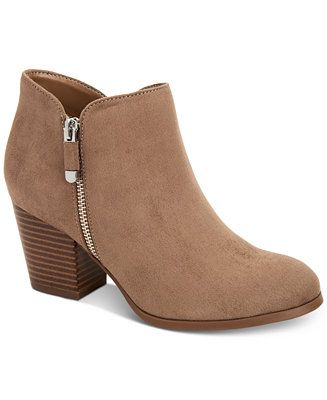 c6044c75779 Style & Co Masrinaa Ankle Booties, Created for Macy's Shoes - Boots - Macy's