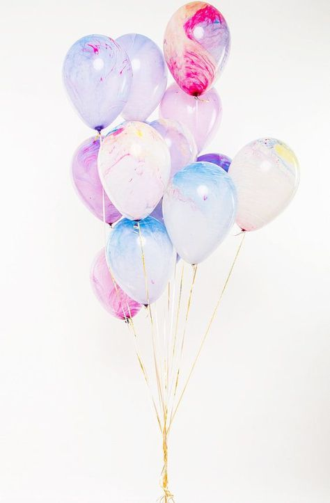 These balloons are inspired by shades of spring and have a layering watercolor e... - #Balloons #Inspired #layering #Shades #Spring #Watercolor