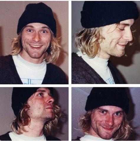 """Kurt Cobain. El es uno de mis ejemplos como persona, nunca se dejo llevar por el """"estereotipo de estrella de rock"""" , siempre fue fiel a si mismo, siempre supo quien era, y no dejo que nada cambiara eso. Una mente fascinante, me gustaría conocer a alguien como el algún día."""