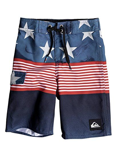 7c3413b896 Quiksilver Little Boys' Division Independent Youth Boardshort Swim ...