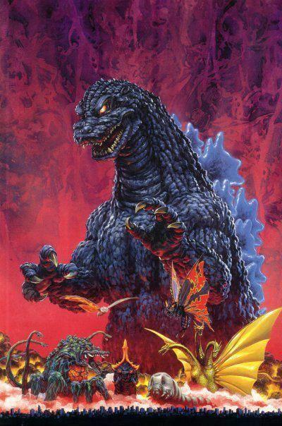 More Awesome Godzilla Art!