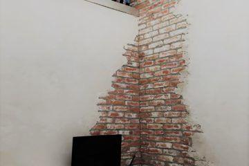 Voor Jouw Bakstenen Muur In Huis Wall Of Steen Oude Bakstenen Interieur Bakstenen Muren Baksteen