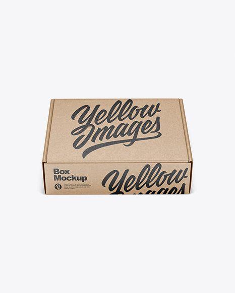 Download Tall Box Mockup Yellowimages