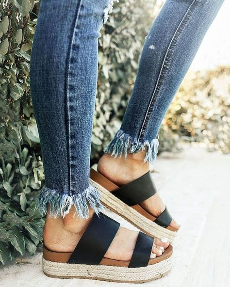 platform sandals #style #Platform #Sandals #style #Summersandals