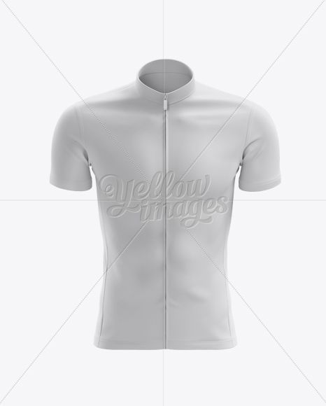 Download Men S Cycling Jersey Mockup Front View In Apparel Mockups On Yellow Images Object Mockups Clothing Mockup Design Mockup Free Cool Sleeves