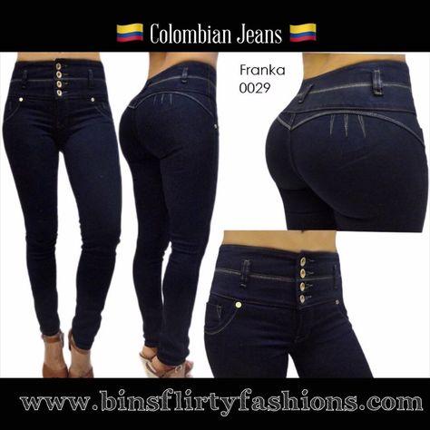 Colombian Jeans, Franka Jeans Butt Lifter 0029 #Franka #SlimSkinny