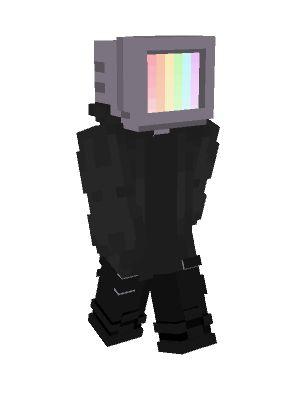 Tv Head In 2021 Minecraft Skin Tv Head Minecraft Skins