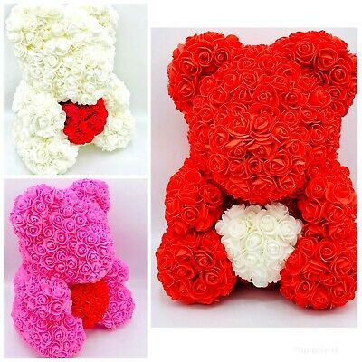 40cm Mother S Day Rose Teddy Bear Flower Perfect Gift Rose Bear Forever Rose In 2020 Bear Valentines Teddy Bears Valentines Teddy Bear Baby Shower Centerpiece