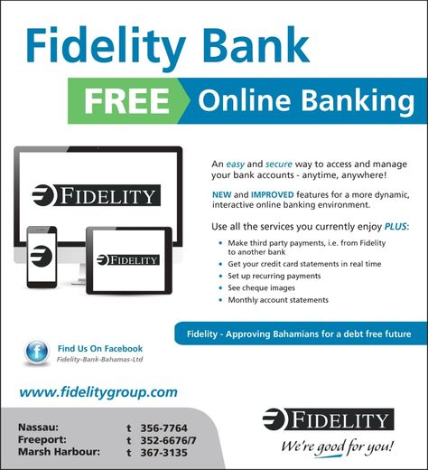63 best Fidelity Bank images on Pinterest Future goals, Banks - bank statements