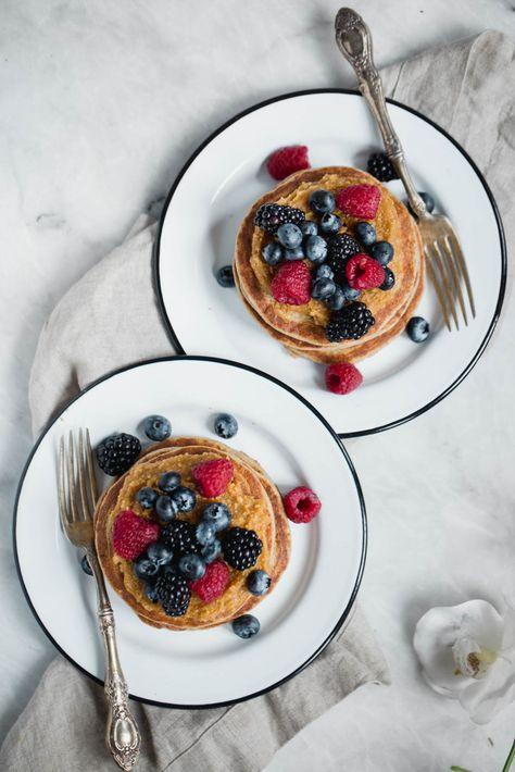 Fabulous Cottage Cheese Banana Oatmeal Protein Pancakes Interior Design Ideas Gentotryabchikinfo