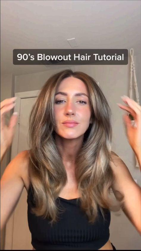 90's Blowout Hair Tutorial