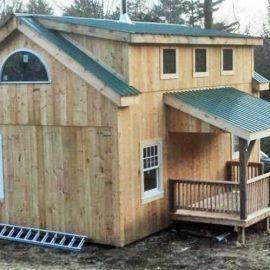 A Frame Cabin Kit Timber Frame Home Kit Post And Beam Cottage Building A Shed Shed Dormer Shed Building Plans
