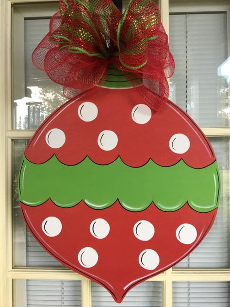 Front door decor front door decorations Christmas by samthecrafter