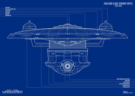 Excelsior Class Starship (Refit)