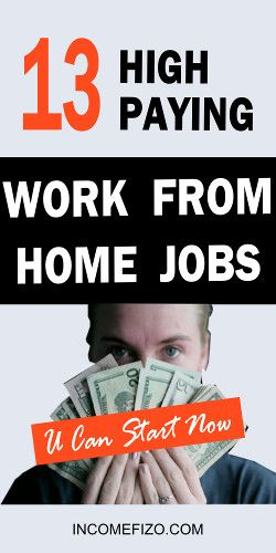25 Best Work From Home Jobs You Can Start Now Work From Home Jobs Working From Home Home Jobs