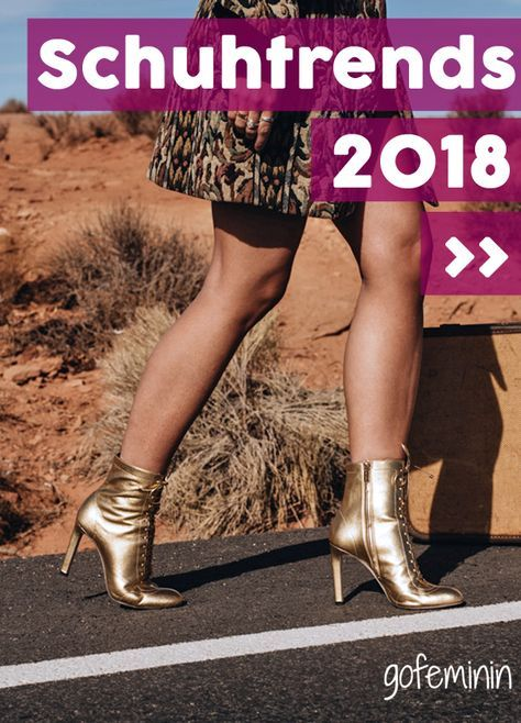 Schuhtrends 2018: 5 Trend-Schuhe, an denen du jetzt nicht vorbei kommst! Bild: fashiioncarpet.com