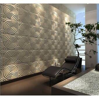Liljenquist 31 1 X 31 1 Peel And Stick Vinyl Wall Paneling In White Vinyl Wall Panels Acoustic Wall Panels Wall Paneling