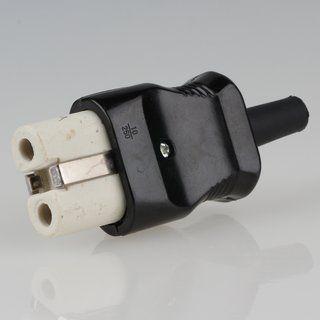 1 x alter Schnurschalter DDR braun 2-Polig Zwischenschalter Lampe An Aus