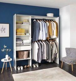Dressing Blanc Zenit Brico Depot Dressing Blanc Kit Dressing Avec Rideau Dressing Fait Maison