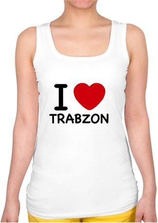 I Love Trabzon Kendin Tasarla Bayan Kare Yaka Atlet Kizlar Ben 10 Ve Tasarim