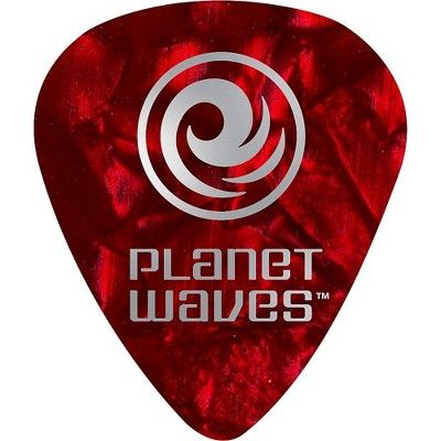 Planet Waves Shell Celluloid Guitar Picks 25 pack Medium