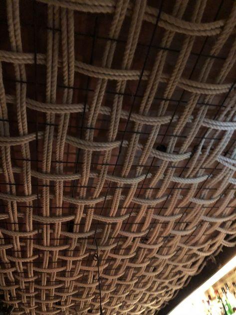 Rope ceiling