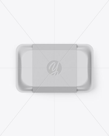 Download Lunch Box Mockup Top View In Box Mockups On Yellow Images Object Mockups Box Mockup Free Mockup Psd Template Free