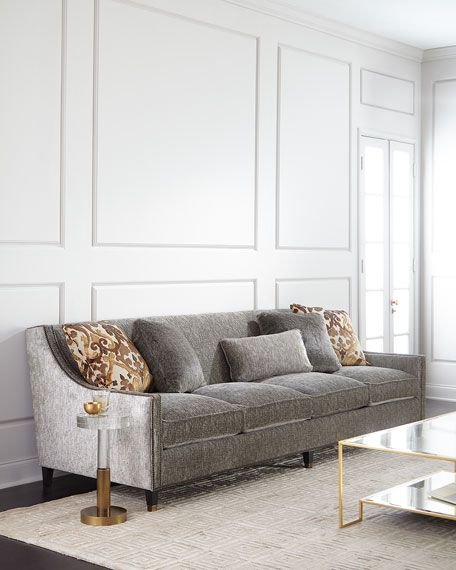 Bernhardt Palisades Extra Long Sofa 108 In 2019 House Ideas Long