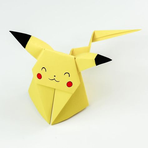Origami Pikachu Tutorial - Cute Origami Pokemon!