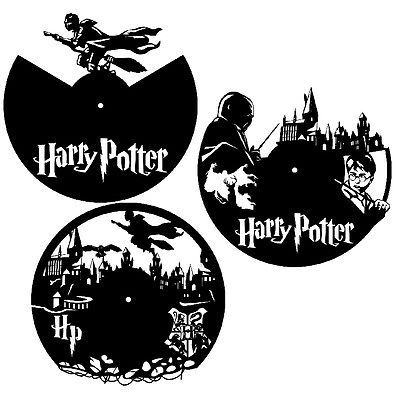 DXF CDR and EPS File For CNC Plasma or Laser Cut - Harry Potter