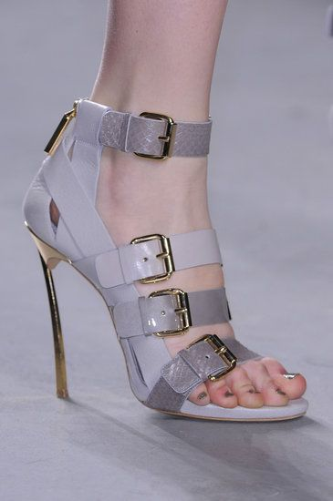 All the Scene-Stealing Shoes From New Yorks Fall 2013 Shows: Kate Spade Fall 2013: Prabal Gurung Fall 2013
