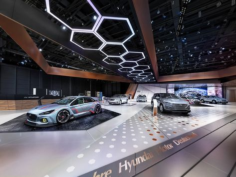 Motor Show Architecture Project for the Hyundai Motor Group at Automobile Messe International in Leipzig