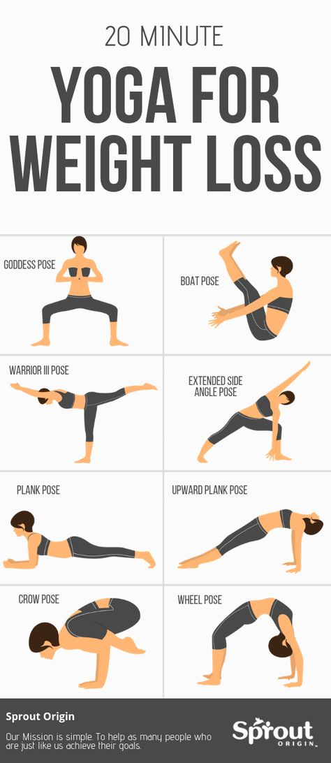 20 Minute Yoga For Weight Loss