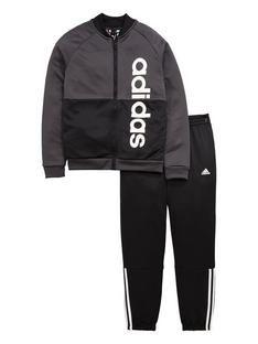 Sweatshirt & Joggers, Trefoil Hoodie Set, ljusrosa   Teenage