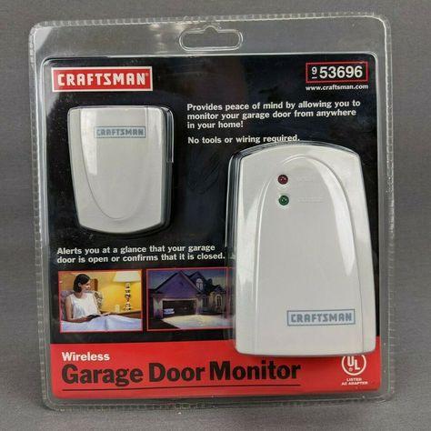 Craftsman Universal Garage Door Monitor 953696 Open Close Indicator New Sealed Craftsman In 2020 Craftsman Garage Door Garage Door Monitor Garage Door Opener