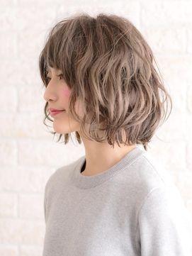 前髪あり ボブパーマのヘアアレンジ 髪型15選 Short Hair Styles