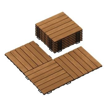 Pin On Wood Deck Tiles