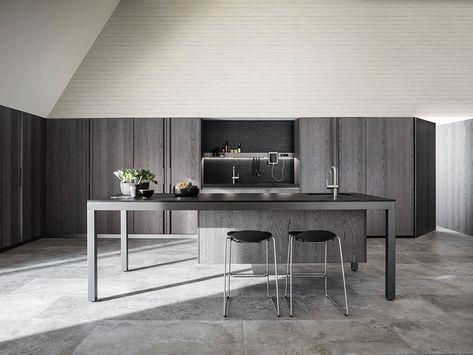 Marche Di Cucine Moderne.Cucine Moderne Grigie 22 Modelli Delle Migliori Marche