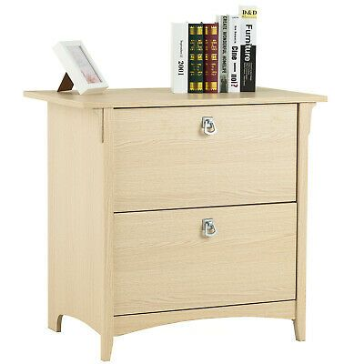 Wooden Lateral Office Filing Cabinets With 2 Drawers Storage Home Furniture Filing Cabinet Lateral File Cabinet Modern Wood