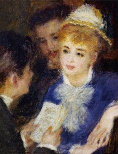 Pierre-Auguste Renoir - Reading the Part