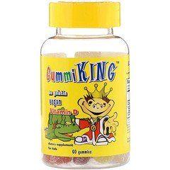 Gummiking فيتامين د للأطفال 60 علكة Vitamins Childrens Vitamins Vitamin D