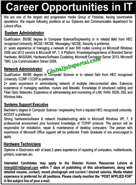 Senior Teachers Jobs in Fazaia Inter College Lower Topa Murree - detailed resume