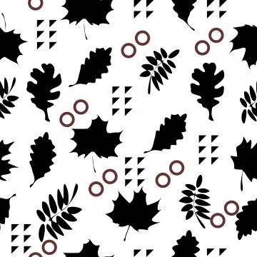 Design Background With Maple Leaves Cartoon Beautiful Black Png And Vector With Transparent Background For Free Download Maple Leaf Decorative Painting Watercolor Paintings