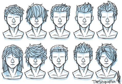 Drawing Hair Tutorial Male 25 Trendy Ideas In 2020 Drawing Hair Tutorial Drawings Pinterest Drawing Male Hair