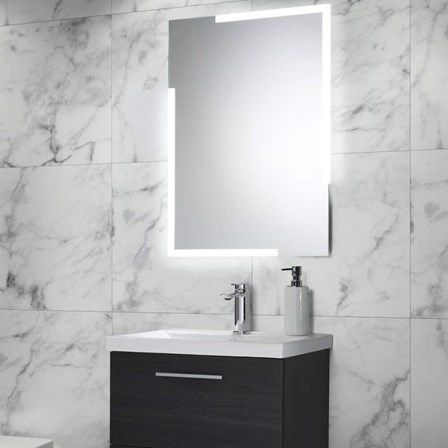 Illuminated LED Designer Bathroom Mirror with Touch Switch,size of 700x500mm
