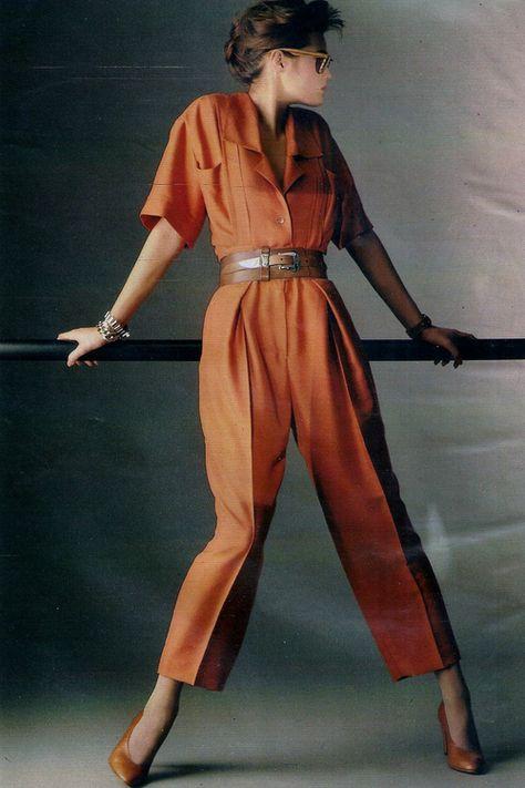 model Yasmin Le Bon, photo by Francis Giaccobetti, Elle France, March