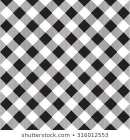 Black Tablecloth Diagonal Seamless Pattern Vector Illustration Of