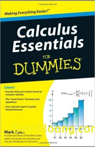 Calculus Essentials For Dummies Pdf With Images Calculus